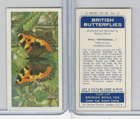 B0-0 Brooke Bond, British Butterflies, 1963, #21 Small Tortoisshell