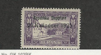 Albania, Postage Stamp, #177 Mint Hinged, 1925