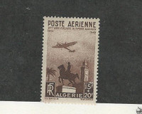 Algeria, Postage Stamp, #CB3 VF Mint Hinged, 1949 Airplane French Colony