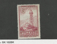 Andorra, French, Postage Stamp, #37 Mint Hinged, 1932
