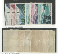 Andorra, French, Postage Stamp, #147-149, 151-153 Mint LH, 1961