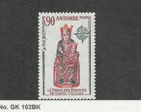 Andorra, French, Postage Stamp, #233 Mint LH, 1974 De Santa Coloma