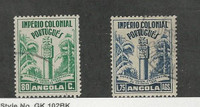 Angola, Postage Stamp, #292-293 Used, 1938, Portugal Colony