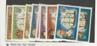 Antigua, British, Postage Stamp, #241//249 Mint LH (9 Different), 1970 Ships