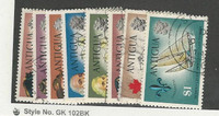 Antigua, British, Postage Stamp, #246//255 Used (8 Different), 1970 Ships