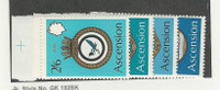 Ascension, British, Postage Stamp, #134-137 Mint NH, 1970