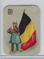 Z0-0 Card, Flags & Costumes of Nations, Belgium