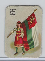 Z0-0 Card, Flags & Costumes of Nations, Bulgaria