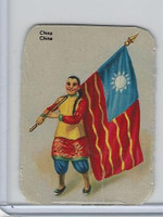 Z0-0 Card, Flags & Costumes of Nations, China