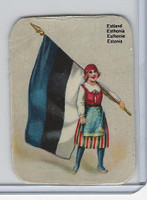 Z0-0 Card, Flags & Costumes of Nations, Estonia