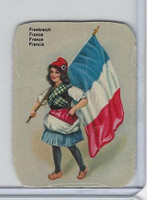Z0-0 Card, Flags & Costumes of Nations, France