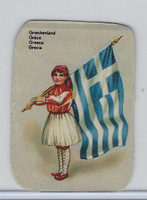 Z0-0 Card, Flags & Costumes of Nations, Greece