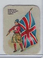 Z0-0 Card, Flags & Costumes of Nations, Great Brtian