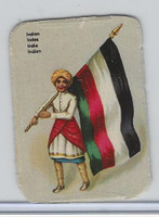 Z0-0 Card, Flags & Costumes of Nations, India