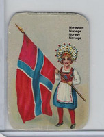 Z0-0 Card, Flags & Costumes of Nations, Norway