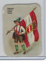 Z0-0 Card, Flags & Costumes of Nations, Austria