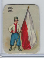 Z0-0 Card, Flags & Costumes of Nations, Poland