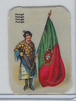 Z0-0 Card, Flags & Costumes of Nations, Portugal