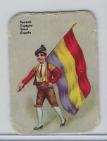 Z0-0 Card, Flags & Costumes of Nations, Spain