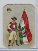 Z0-0 Card, Flags & Costumes of Nations, Hungary