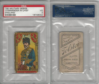 T80 Tolstoi, Military, 1911, Commander in Chief, England, PSA 3 VG