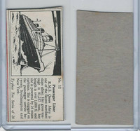 T0-0 Typhoo Tea, Types of Ships, 1955, #12 Passenger Liner, RMS Queen Mary