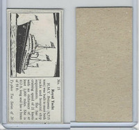 T0-0 Typhoo Tea, Types of Ships, 1955, #15 Royal Yacht, Britannia