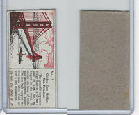 T0-0 Typhoo Tea, Famous Bridges, 1955, #17 Golden Gate, San Francisco