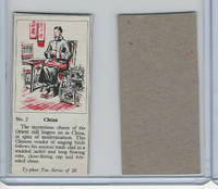 T0-0 Typhoo Tea, Costumes of the World, 1955, #2 China
