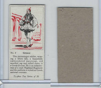 T0-0 Typhoo Tea, Costumes of the World, 1955, #4 Greece