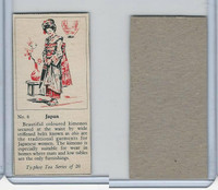 T0-0 Typhoo Tea, Costumes of the World, 1955, #6 Japan