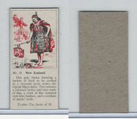 T0-0 Typhoo Tea, Costumes of the World, 1955, #10 New Zealand