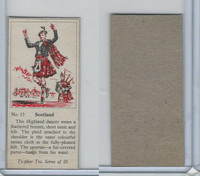 T0-0 Typhoo Tea, Costumes of the World, 1955, #13 Scotland