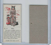 T0-0 Typhoo Tea, Costumes of the World, 1955, #18 Tibet
