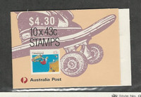 Australia, Postage Stamp, #1119a Mint NH Booklet, 1990 Skateboarding (A)