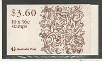 Australia, Postage Stamp, #1159a Mint NH Booklet, 1989 Library Victoria