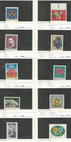 Austria, Postage Stamp, #1013//1555 Mint Hinged (10 Different), 1975-92