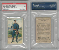 T81 Recruit, Military, 1908, Brigadier General USA , PSA 1