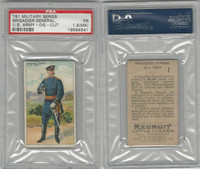 T81 Recruit, Military, 1908, Brigadier General USA , PSA 5 MC EX