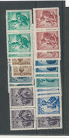 Austria, Postage Stamp, #522//551 Mint NH Lot (P)