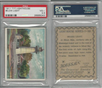T77 Hassan, Lighthouse, 1910, Biloxi, Mississippi, PSA 3.5 VG+