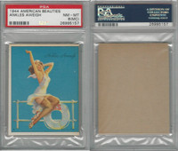 R59 Gum Inc, American Beauties, 1944, Ankles Aweigh, PSA 8 MC NMMT