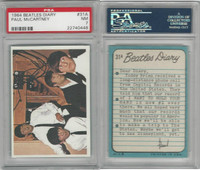 1964 Topps, Beatles Diary, #31A Paul McCartney, PSA 7 NM
