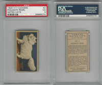 V17 Cowan's, Noted Cats, 1925, #2 Piquante Pearl, PSA 3 VG