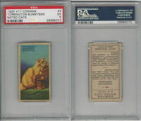 V17 Cowan's, Noted Cats, 1925, #3 Torrington Sunnyside, PSA 5 EX