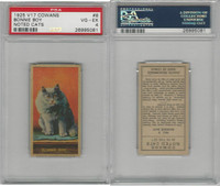 V17 Cowan's, Noted Cats, 1925, #8 Bonnie Boy, PSA 4 VGEX