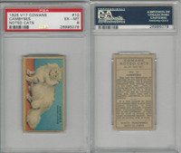 V17 Cowan's, Noted Cats, 1925, #10 Cambyses, Chinchilla, PSA 6 EXMT