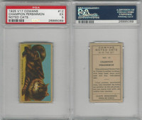 V17 Cowan's, Noted Cats, 1925, #12 Champion Persimmon, PSA 5 EX