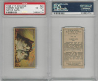 V17 Cowan's, Noted Cats, 1925, #20 Tommy And Pet, PSA 6 EXMT