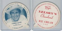 F5-18 Dixie Cup, 1952, Movie Stars, Large, Forrest Tucker, Nelson's Ice Cream